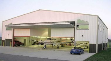 Hangars en acier préfabriqués adaptés aux besoins du client d'avions avec l'économie de travail