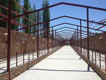 Étable en acier et construction d'atelier structurel en acier préfabriqué d'entrepôt