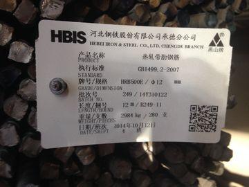 GV examiné renforçant les kits de bâtiment préfabriqués de barre d'acier