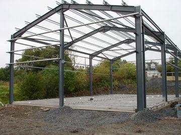Systèmes de encadrement légers d'acier de construction pour les bâtiments en acier industriels, bâtiment d'entrepôt