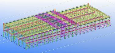 conceptions techniques structurelles commerciales en acier préfabriquées Pré-machinées